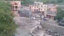 D'impressionnantes crues touchent la région d'Imlil