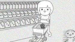 買い物カゴに勝手に物を入れられる事案が発生