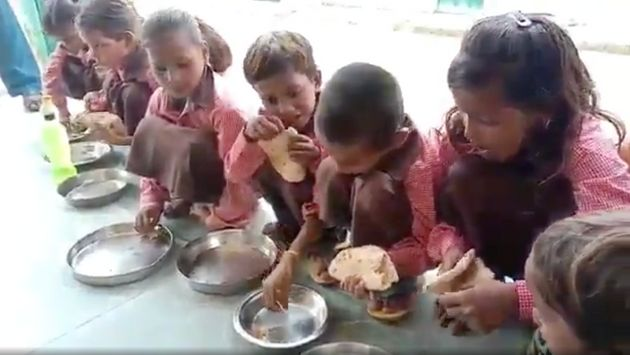 Journalist Booked For UP's Salt-Roti Mid-Day Meal Video, Says 'Recorded What I Saw'