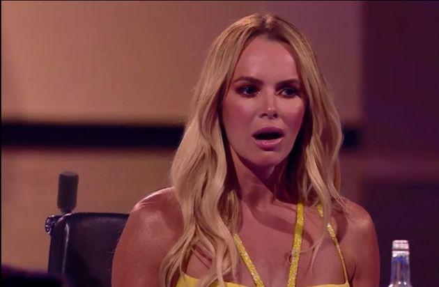 Amanda Holden was shocked by Saturday's Britain's Got Talent