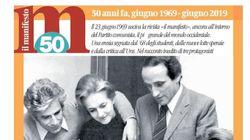 """I 50 anni del Manifesto, """"povero ma"""