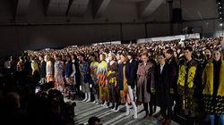Designer At Paris Fashion Week Proves Modelling Has No Age