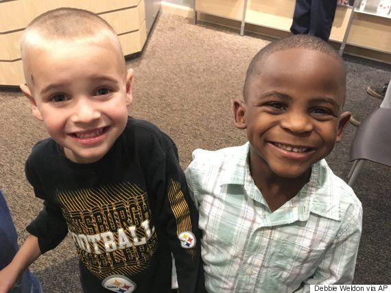 5-Year-Old Boy, Jax, Gets Same Haircut As His Friend So You Can't Tell Them