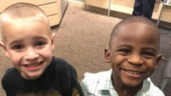 Boy Gets Same Haircut As His Friend So You Can't Tell Them