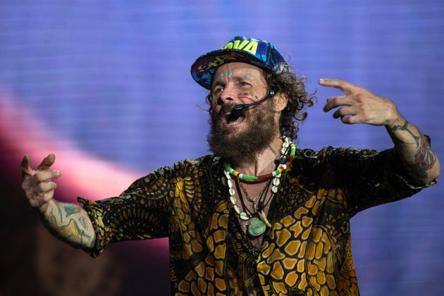 PRAIA A MARE, ITALY - AUGUST 07: Jovanotti performs during