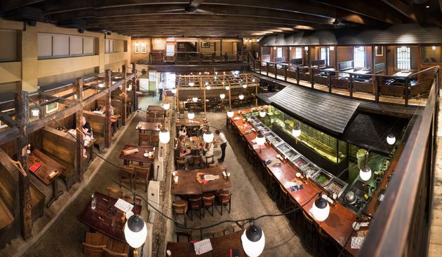 Gonpachi, the restaurant that inspired the location of the restaurant fight scene in Kill