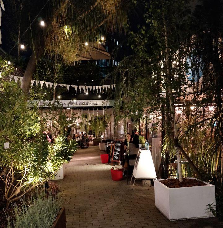 Yoyogi beer garden