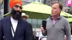 'You're Racist': Jagmeet Singh's Brother Calls Out Agitator's