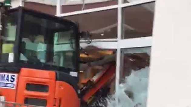 Man Admits Intentionally Driving Digger Into Travelodge After Bosses Fail To Pay Him