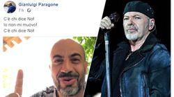 Vasco Rossi contro Paragone: