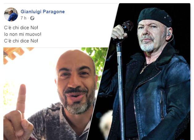 Gianluigi Paragone e Vasco