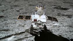 Le robot chinois Yutu-2 découvre un «gel» étrange sur le sol