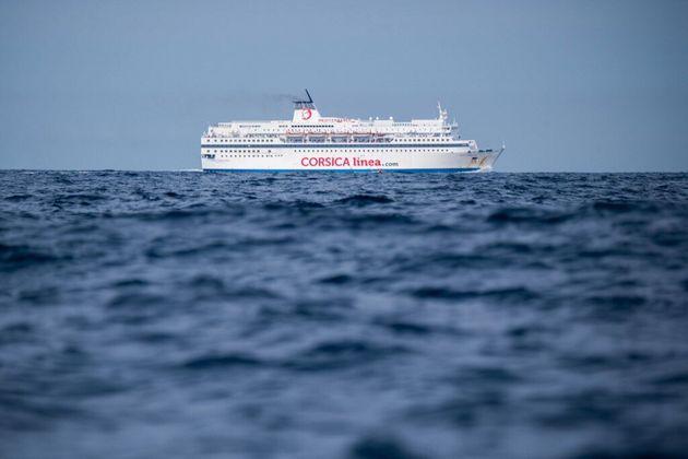 Un ferry de la compagnie Corsica Linea sauve 18 migrants à la dérive en