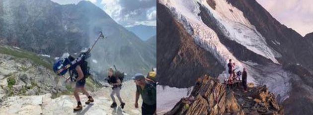 Un rameur abandonné sur le Mont-Blanc provoque la colère du maire de