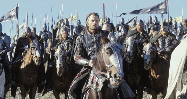 """Viggo Mortensen in """"The Lord of the Rings: The Return of the King."""""""