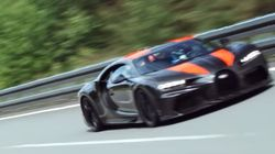 'Inconceivable!': Bugatti Chiron Smashes Through Speed