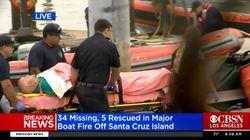 Al menos 25 muertos tras incendiarse un barco de recreo en
