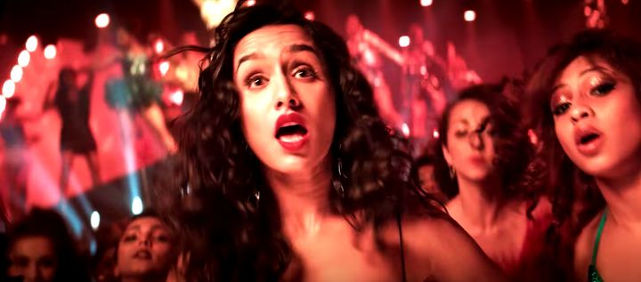 Shraddha Kapoor in the song 'Saiyan Psycho'.