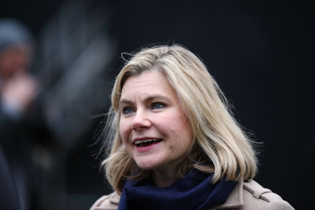 Justine Greening outside the House of Parliament, London, ahead of the House of Commons vote on the Prime...