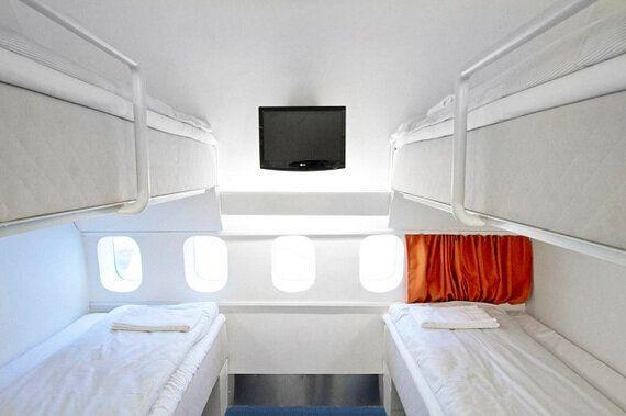 飛行機好き必見!コックピットで過ごす、「飛行機ホテル」の特別な一夜