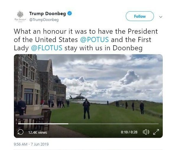 Mike Pence Goes 3 Hours Out Of His Way To Stay At Trumps Irish Golf Resort