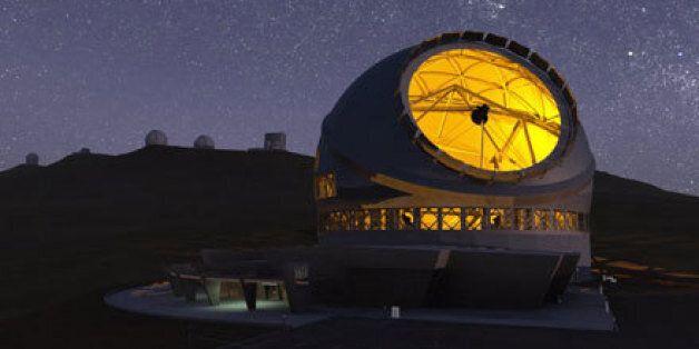 直径30m巨大望遠鏡がハワイで着工へ