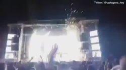 La ballerina viene colpita da un fuoco artificiale e muore sul palco a Madrid
