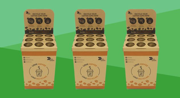 This New Coffee Cup Scheme Could Recycle Hundreds Of Millions Of Cups Every Year