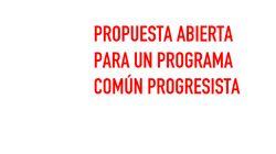 Consulta aquí el documento íntegro con las 300 propuestas de