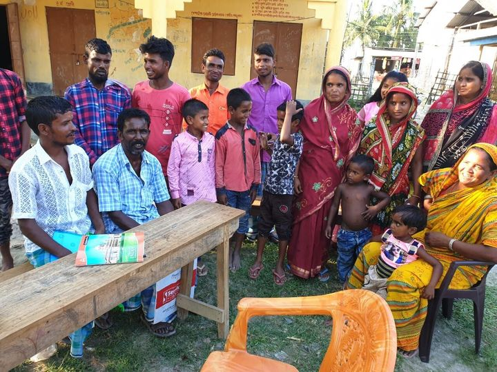 Villagers of Darrang who are have taken debts, mortgaged land and have started working for free to pay legal fees for family in detention camps.