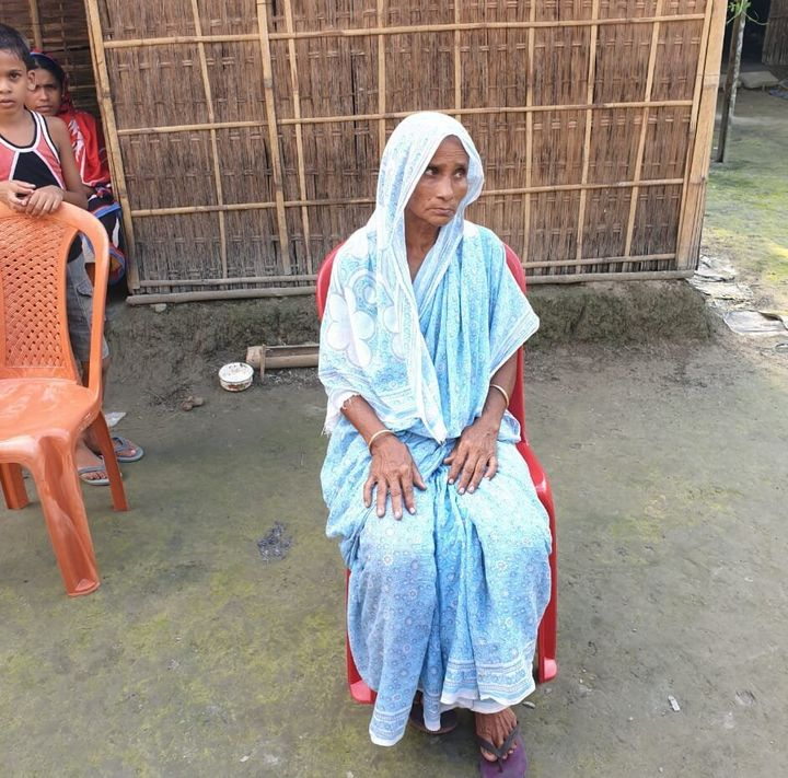 Maidul Islam's mother.