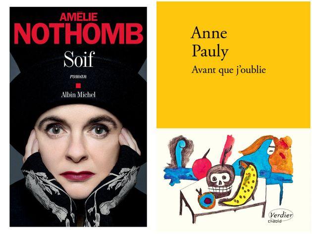 Parmi la sélection du Goncourt 2019, le dernier roman d'Amélie Nothomb et le tout premier...