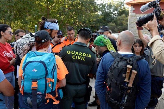 El dispositivo de búsqueda de laexesquiadora española Blanca Fernández Ochoa en...