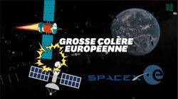 L'ESA en colère contre SpaceX après avoir évité l'un de ses