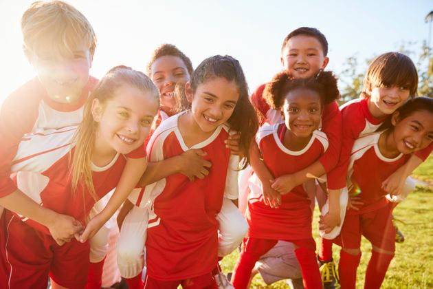 A new study says there's plenty of benefits to team sports, like optimism, feelings of belonging,...