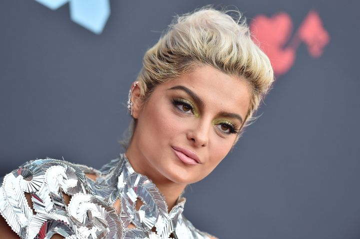 NEWARK, NEW JERSEY - AUGUST 26: Bebe Rexha attends the 2019 MTV Video Music Awards at Prudential Center on August 26, 2019 in