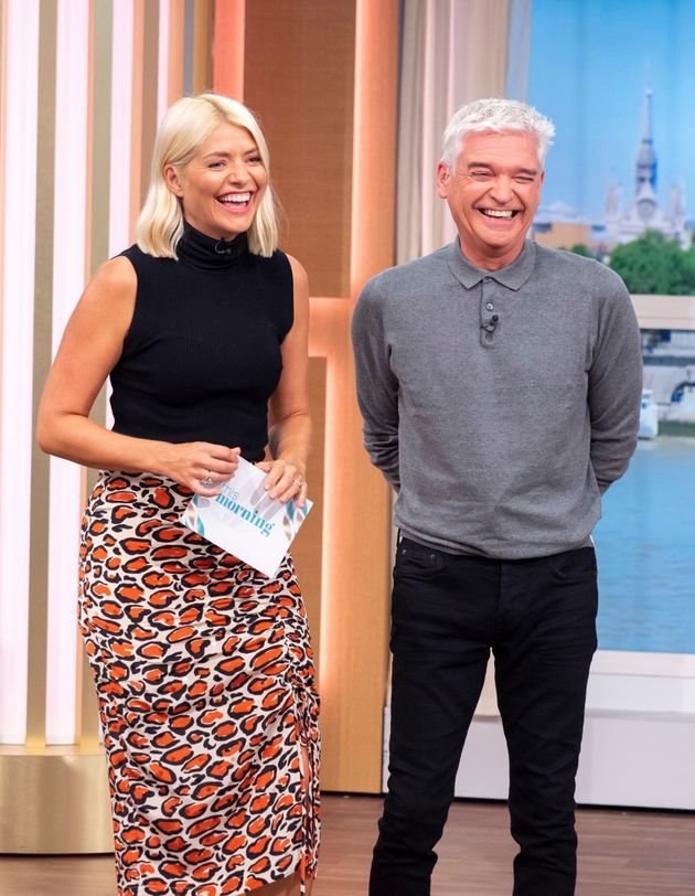 Holly Willoughby and Phillip Schofield on This