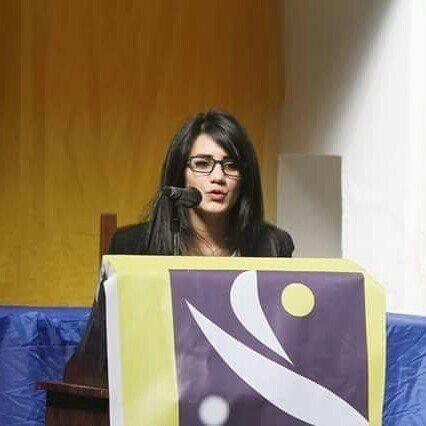 Wassila Boughari la secrétaire nationale du RCD au mouvement