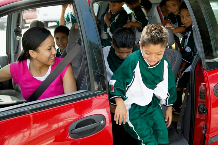 Carpooling is one way to offset some of the costs of extracurricular activities.