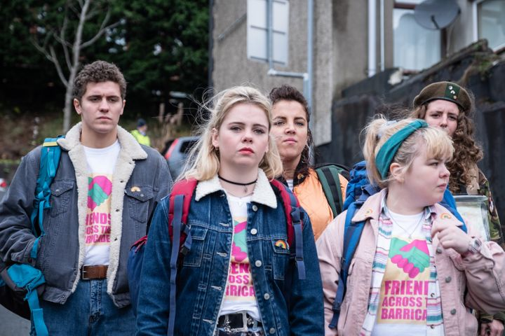 "The cast of ""Derry Girls"""