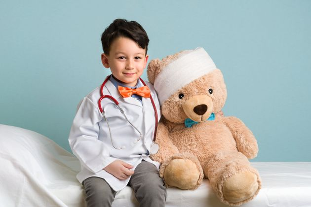Too soon to declare this child a doctor,