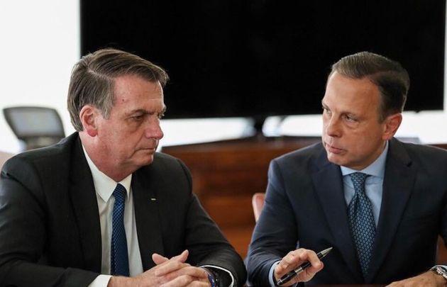 """Tanto Bolsonaro quanto Doria usam a expressão """"ideologia de"""
