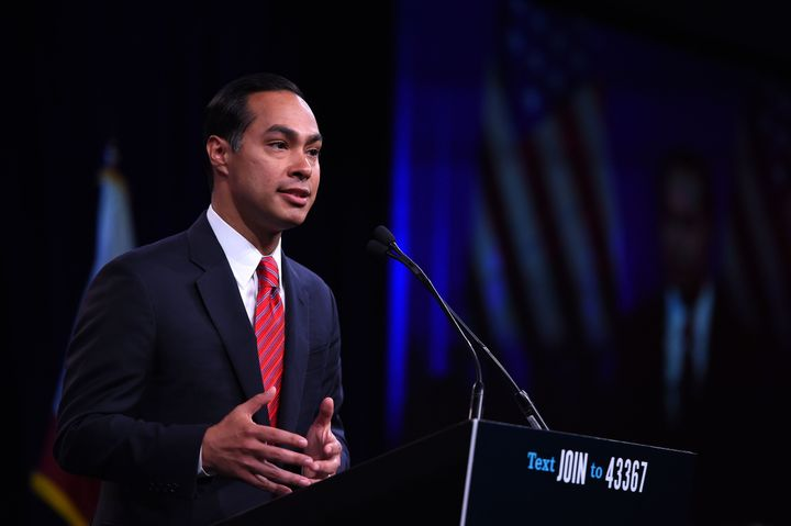 "Former HUD Secretary Julián Castro wants to create a new ""climate refugee"" status for migrants affected by"