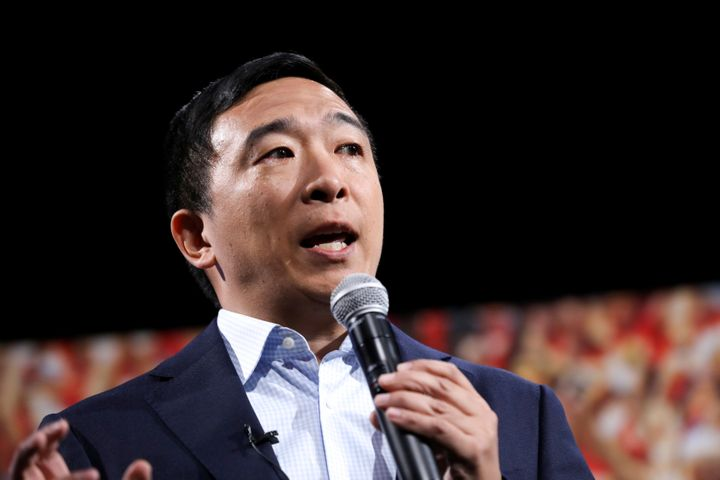 Andrew Yang is the only major candidate to embrace geoengineering in his climate plan.