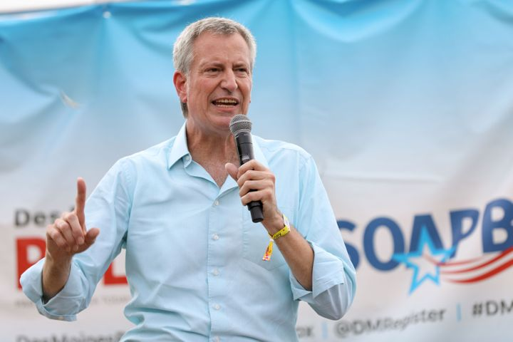 New York City passed a historic Green New Deal-style bill to cap emissions from big buildings, but New York City Mayor Bill d