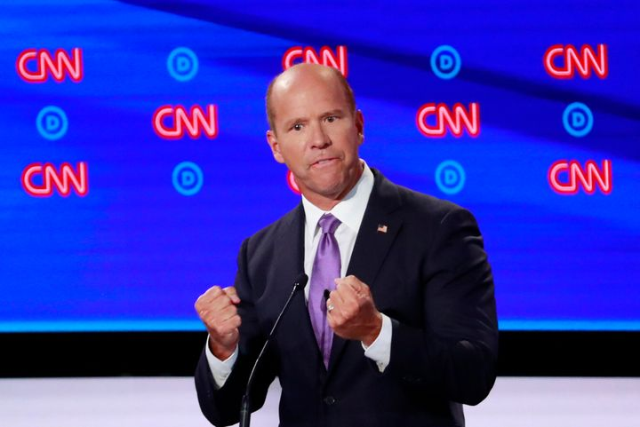Former Rep. John Delaney has proposed $5 billion annually for negative emissions technologies, including carbon capture,