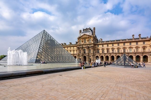2019年5月、ストライキが行われたパリのルーヴル美術館