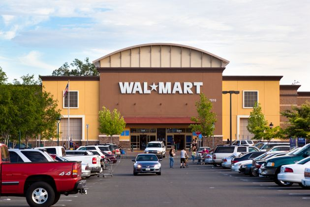 カリフォルニア州にあるウォルマート店舗