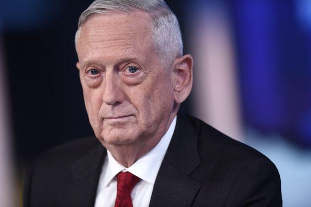 NEW YORK, NEW YORK - SEPTEMBER 03: (EXCLUSIVE COVERAGE) Former U.S. Secretary of Defense James Mattis...