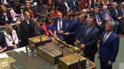 21 députés opposés à Johnson, dont le petit-fils de Churchill, exclus du parti